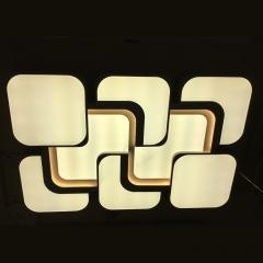 家家旺灯饰 现代简约整体家居照明智能家居照明 LED三色调光 尺寸与大小咨询客服