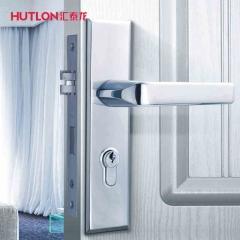 汇泰龙机械门锁 艺薄不锈钢房门锁 HD-67825 pvd金色
