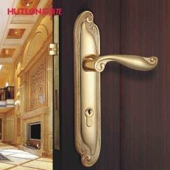汇泰龙机械门锁 别墅专用古典豪华大门锁 HD-68521 振光黄古铜