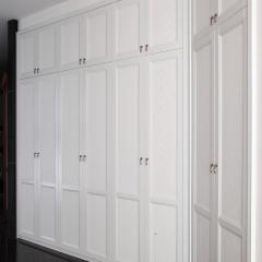 米兰印象全屋定制 现代简约风格 包覆平开门衣柜 60H拼框门 60H拼框门 欧洲进品克诺斯邦E0级颗