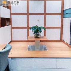 米兰印象全屋定制 榻榻米 现代简约风格 颜色可定制 颜色可定制 欧洲进品克诺斯邦E0级颗粒板 尺寸与